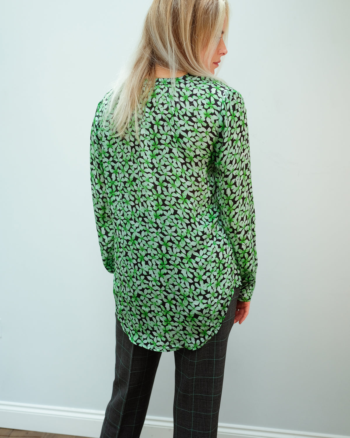 PPL Sandy Open Shirt in Pretty Green