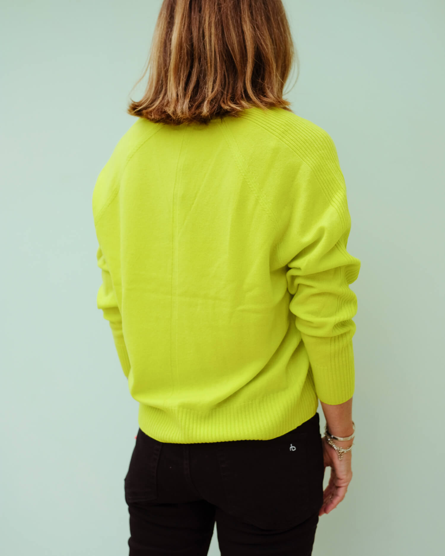 R&B Gio cashmere in lime