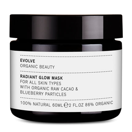 EVOLVE Radiant Glow Mask Blueberry