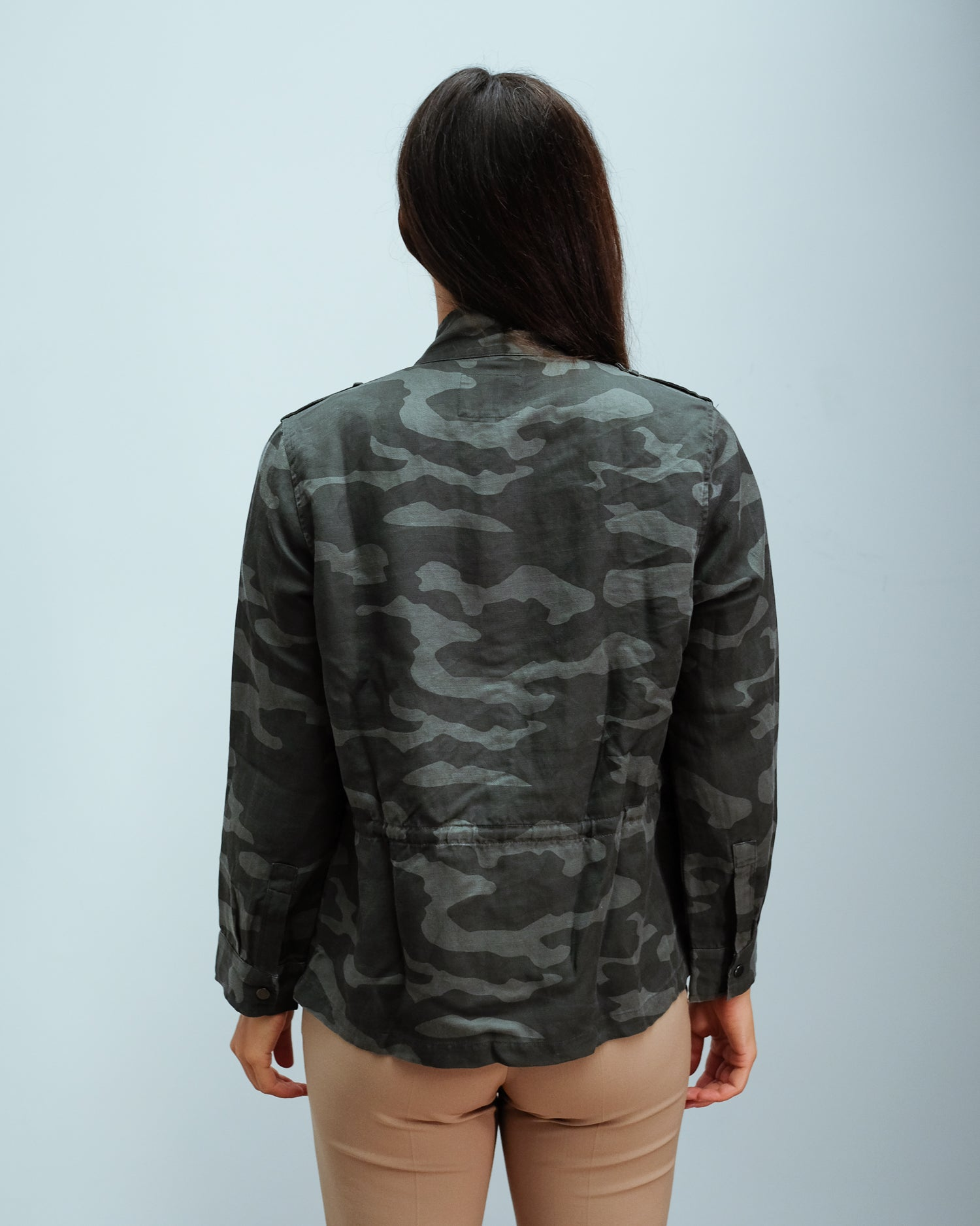 RAILS Trey Jacket in Charcoal Camo