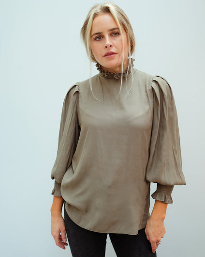 SEC.F Florenza Blouse in Sea Turtle