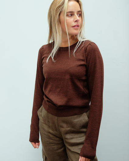 SLF Lira knit in coffee bean