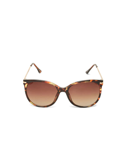SLF Lovisa sunglasses in demitasse with gold arms