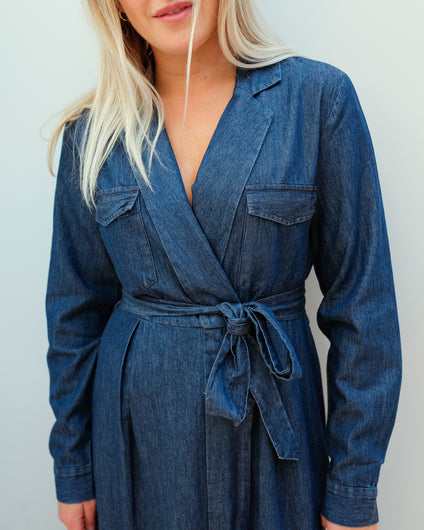 SLF Miranda dress in denim