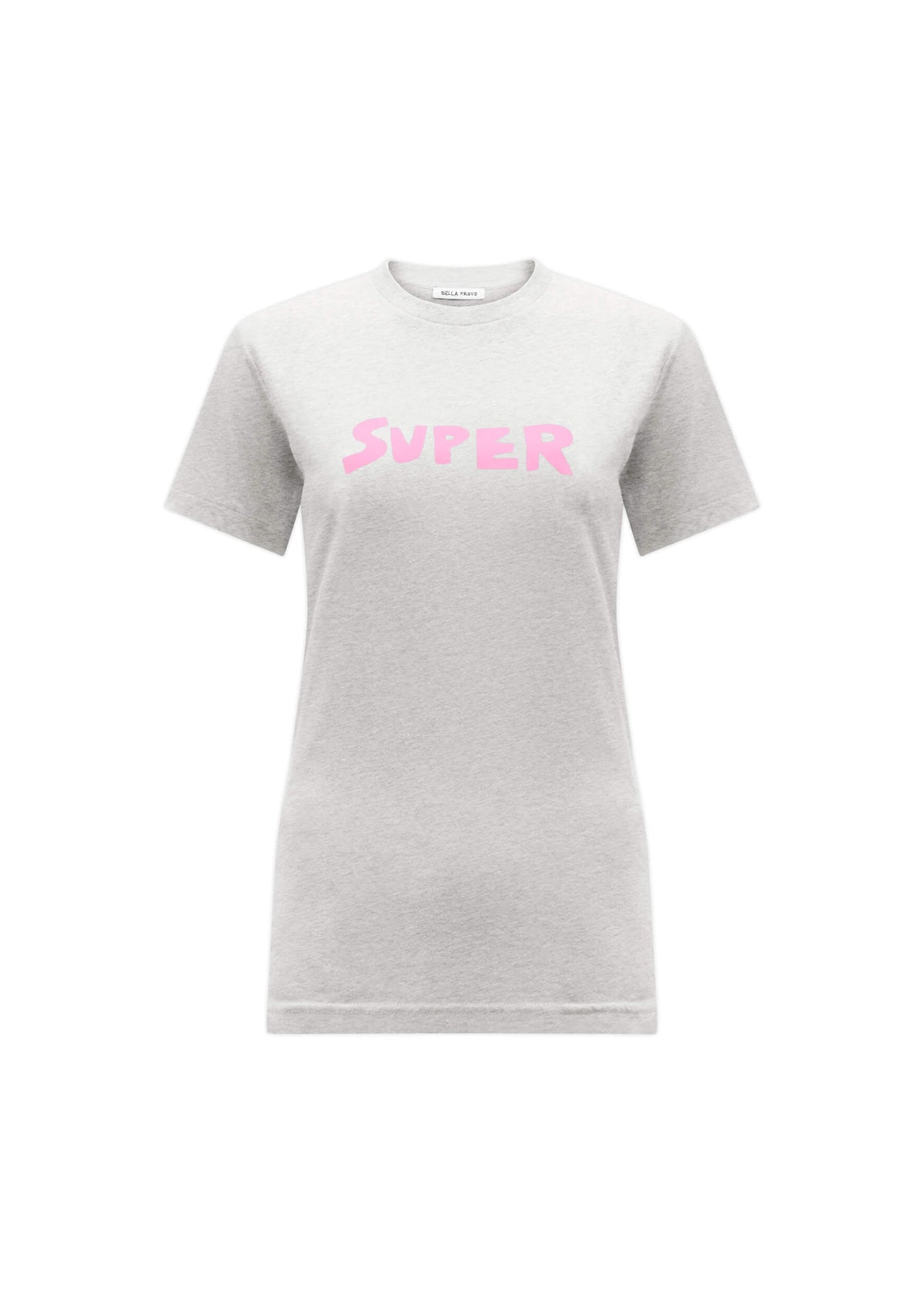 BF Super T shirt in grey marl