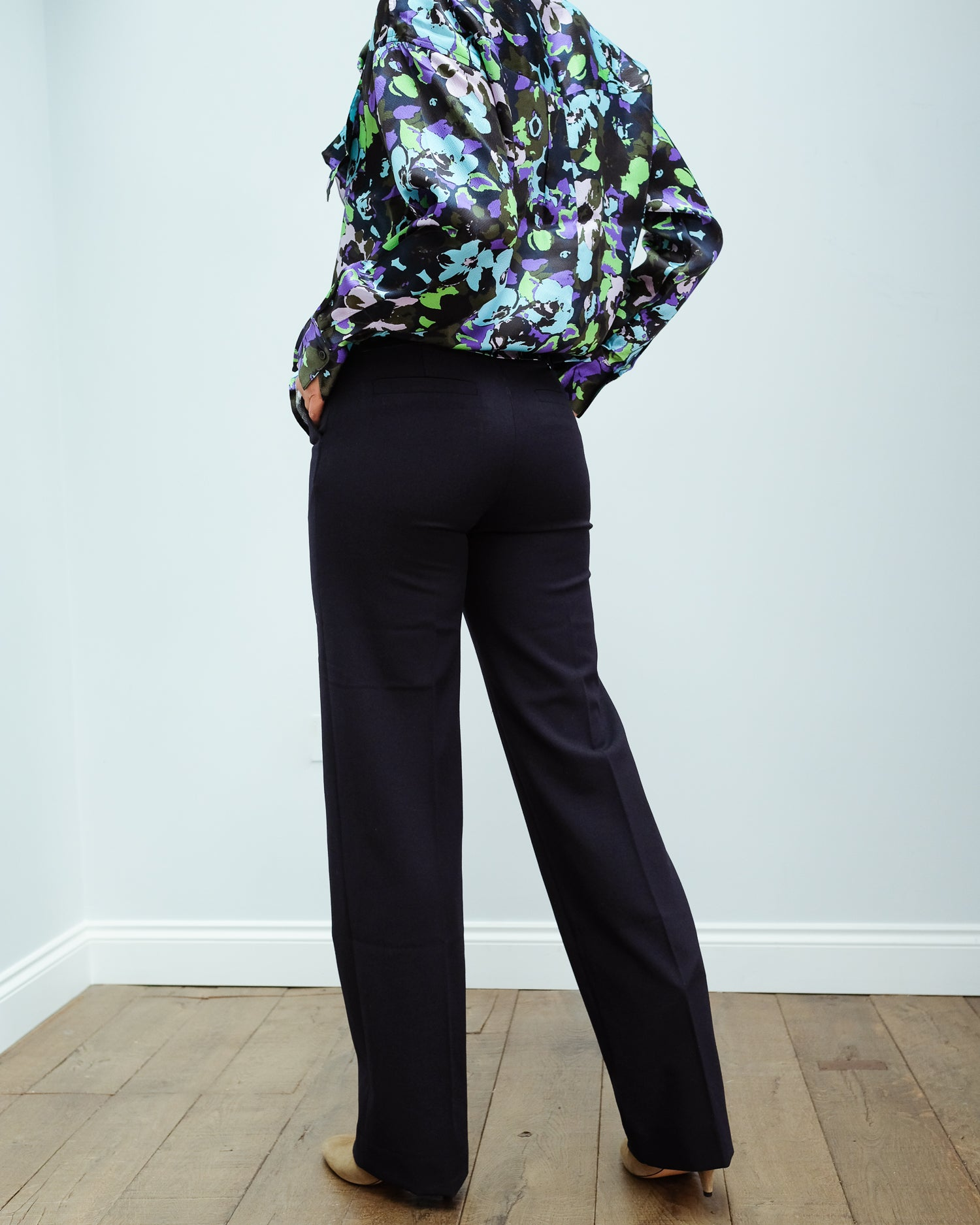 LOR Lan trousers in navy