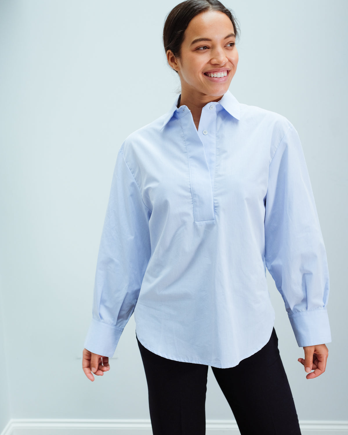 LOR Lotti Shirt in Sky Blue