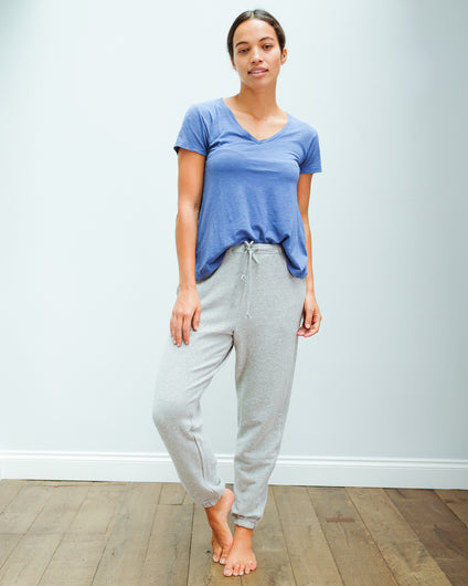 AV NEA05 joggers in grey chine