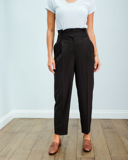 SLF Nadia tapered pant in black