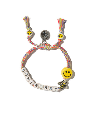 VA Don't worry bee happy bracelet in sunset melange