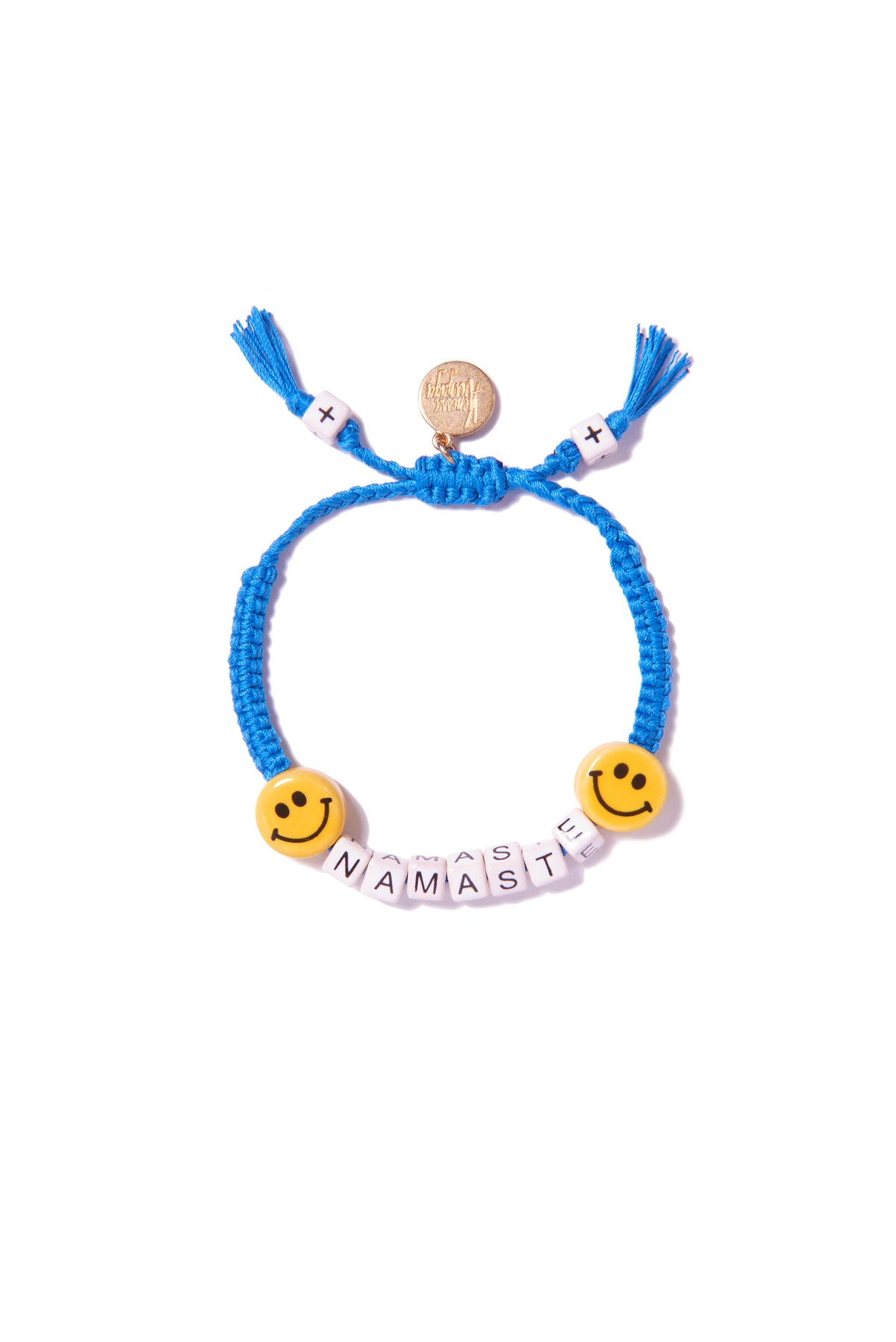 VA Salutations bracelet in blue