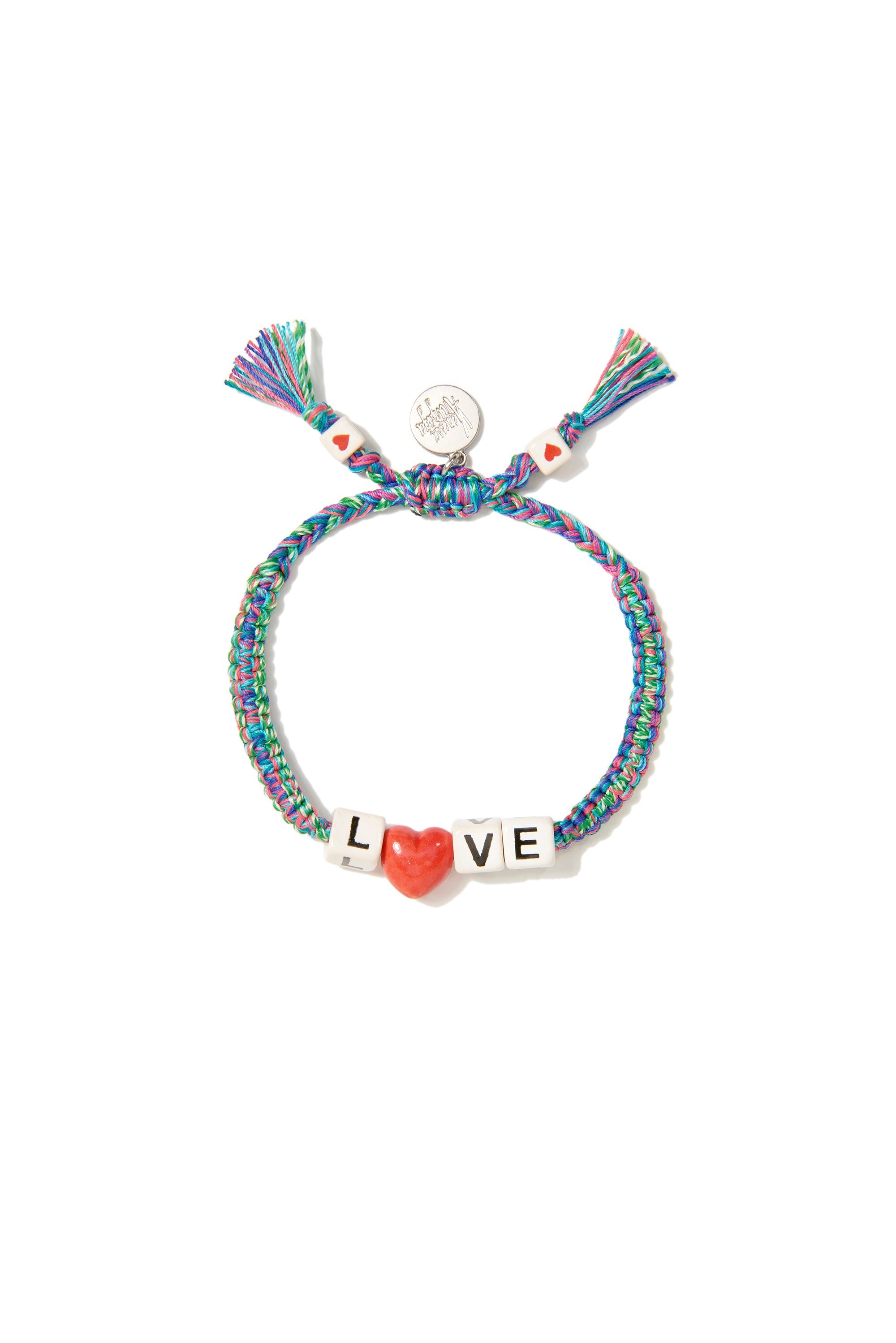 VA Love braceletin blue green melange