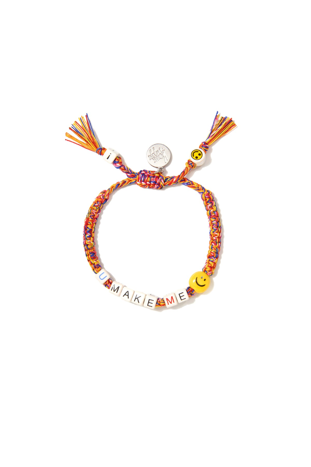 VA You make me smile bracelet in rainbow melange