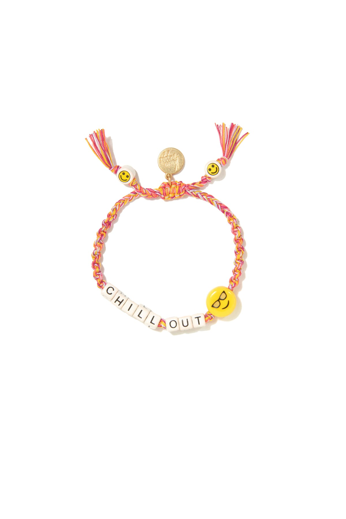 VA Chill out bracelet in orange with gold