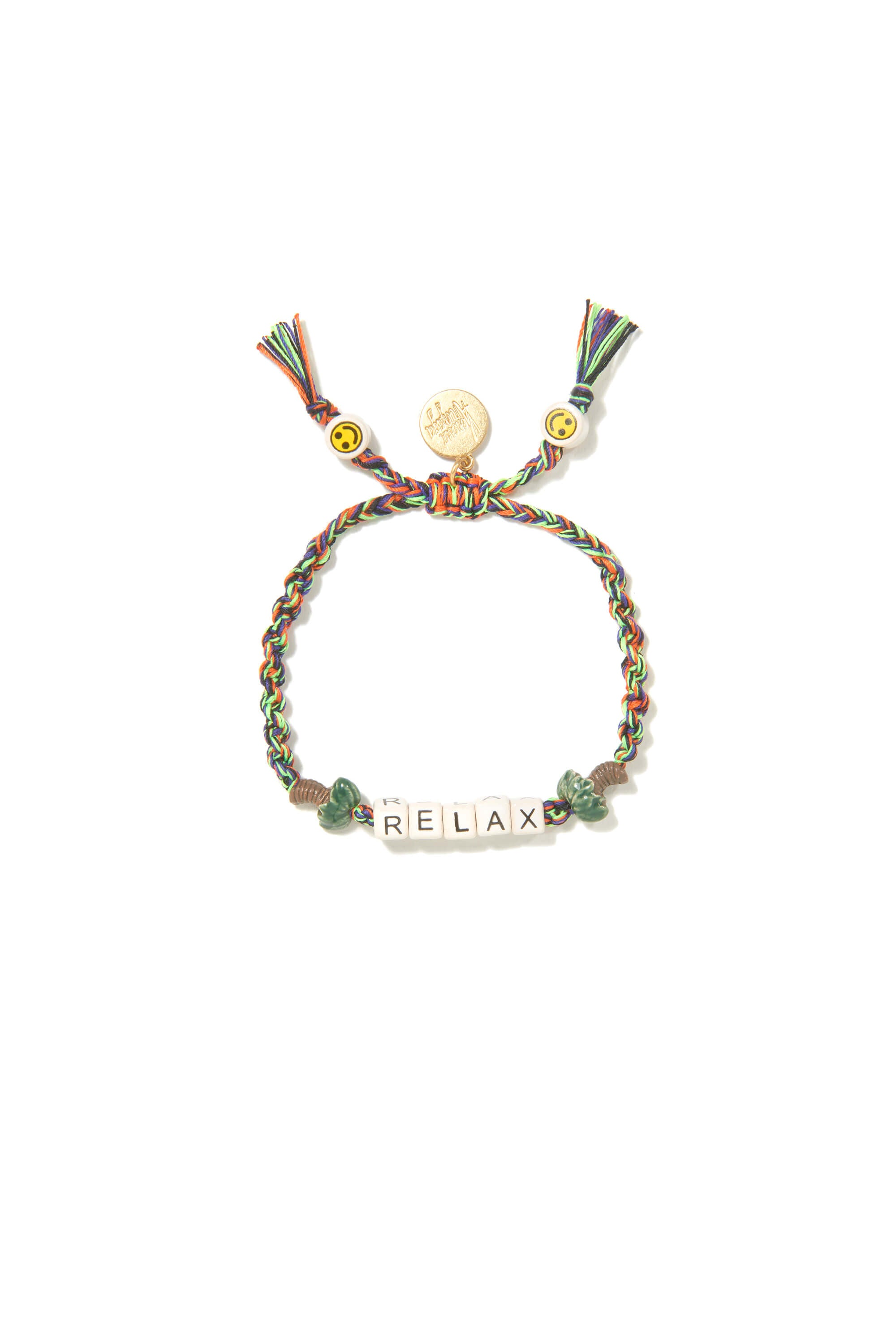 VA Relax bracelet in rainbow with gold