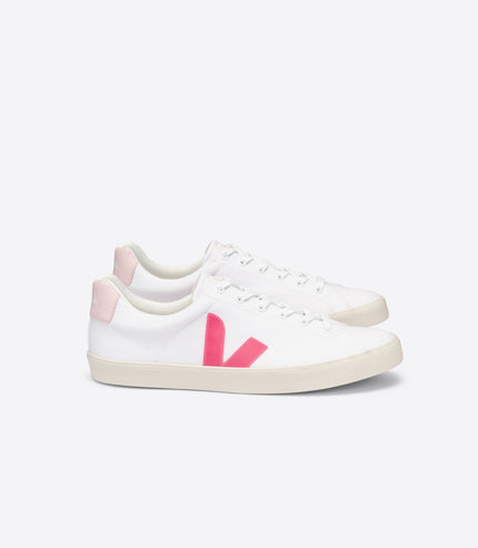 VEJA Esplar Canvas in White, Rose, Petale