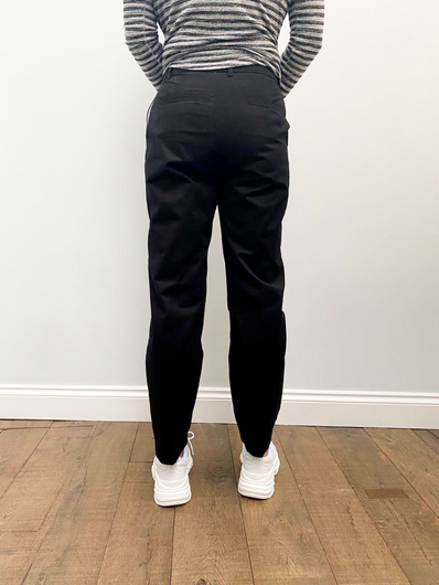 SLF Nora Cropped Pant in Black