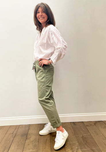 VELVET Misty Pants in Sage