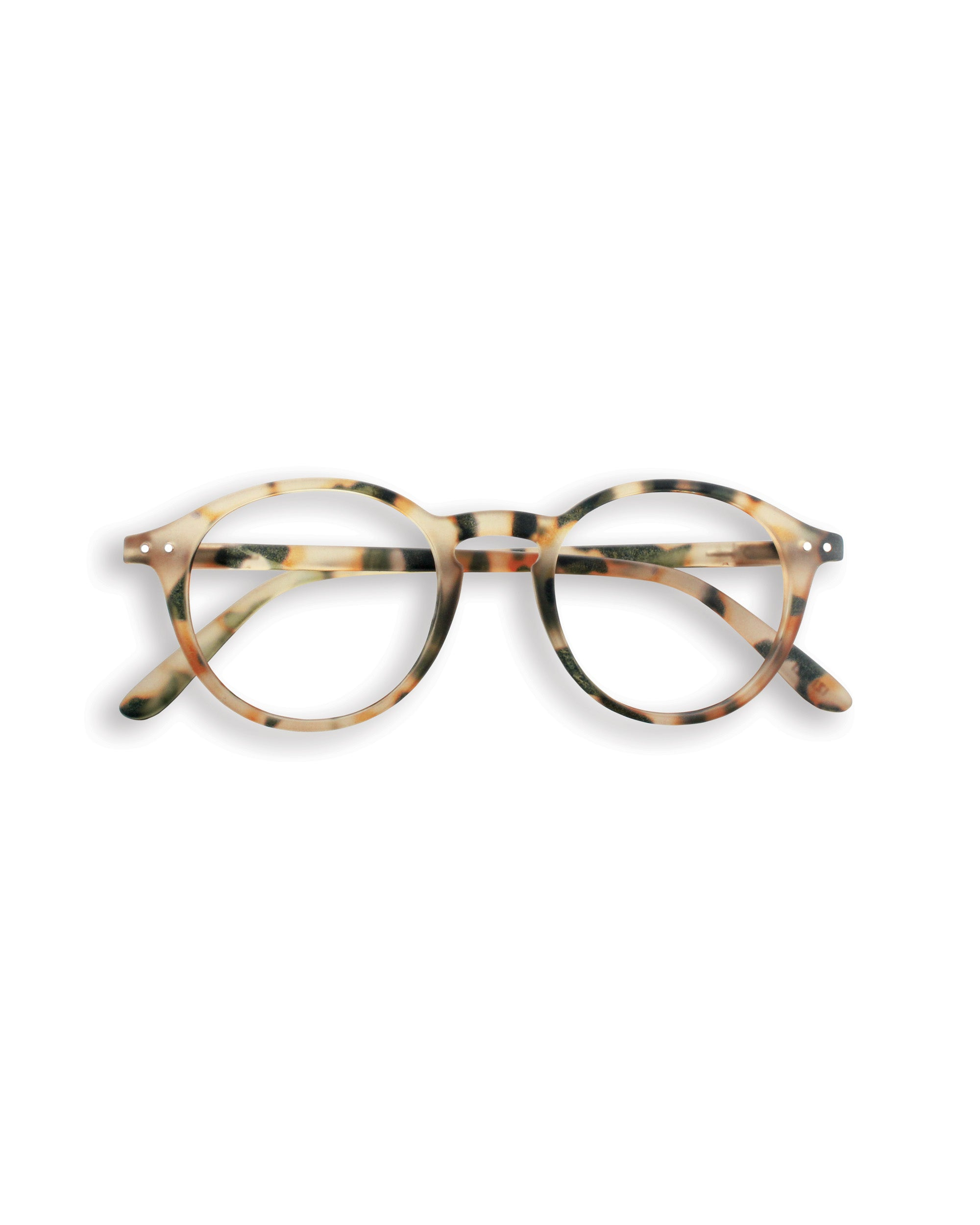 Izipizi Reading glasses d in light tortoise