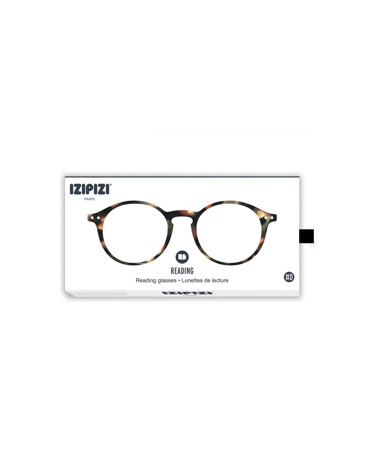 Izipizi Reading glasses d in tortoise