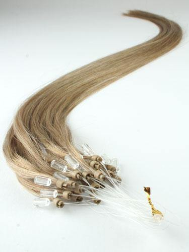 Ash Blonde Micro Loop Extensions