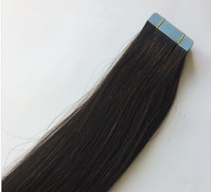 Black Darkest Brown Tape In Extensions #1B - Belle Noir Beauty (product_title) (product_type)