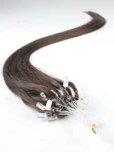 Darkest Brown Micro Loop Extensions - Belle Noir Beauty (product_title) (product_type)