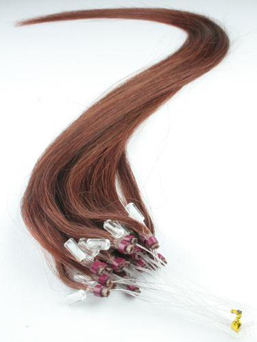 Copper Red Micro Loop Extensions - Belle Noir Beauty