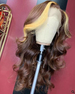 Full Lace 10a Grade 1B/27 Wig - Belle Noir Beauty