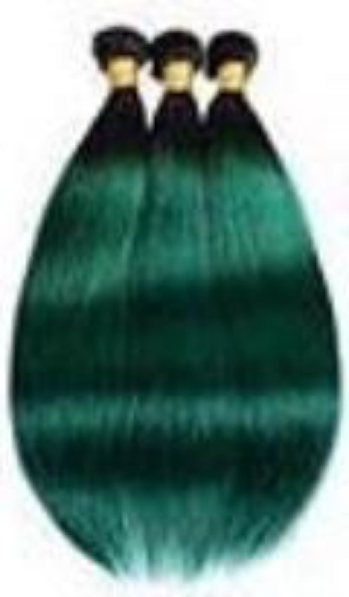 10A 1B/Green Ombre Bundles - Belle Noir Beauty