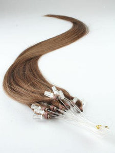 Medium Brown Micro Loop Extensions - Belle Noir Beauty (product_title) (product_type)