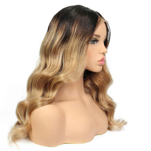 10a Grade Full Lace  #1B Fading to Blonde #27(#T1B/27) - Belle Noir Beauty (product_title) (product_type)
