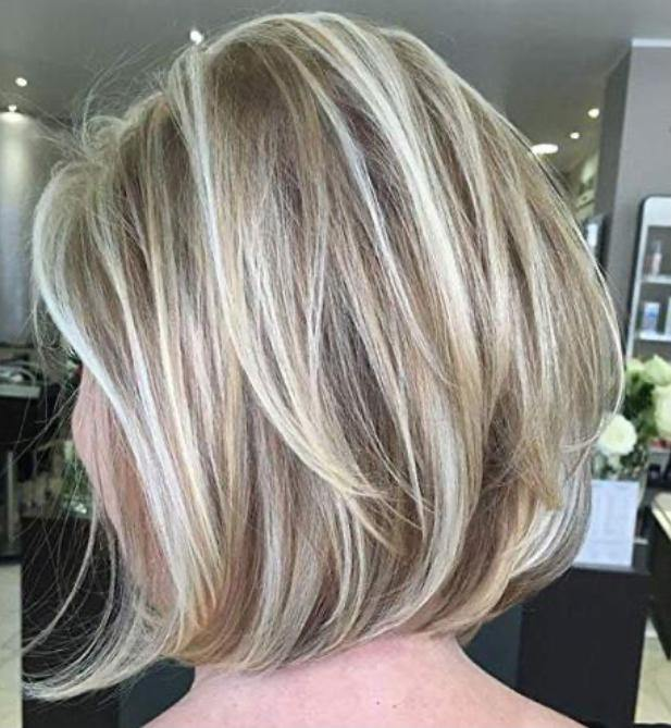 Light Brown #8 Highlighted with Platinum Blonde #60(ST #P8/60)