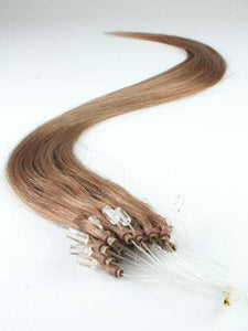 Light Brown Micro Loop Extensions - Belle Noir Beauty (product_title) (product_type)