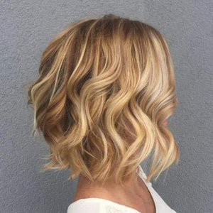 Blonde #16 Highlighted with Caramel Blonde #27(Wave #P16/27)