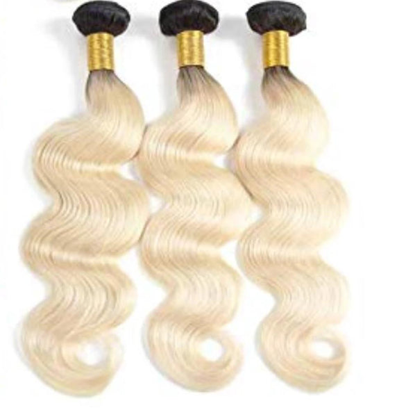 10A Blonde Ombre Bundles - Belle Noir Beauty