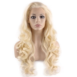 10a Grade #613 Full Lace Blonde Wavy Wig - Belle Noir Beauty (product_title) (product_type)