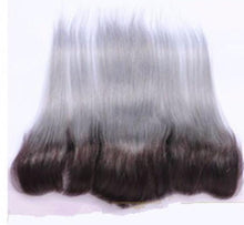 Grey Ombré Straight Frontal System
