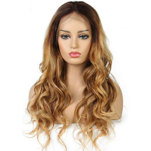 10a Grade Full Lace Brown #30 Highlighted with Blonde #27(#4/30/27) - Belle Noir Beauty (product_title) (product_type)