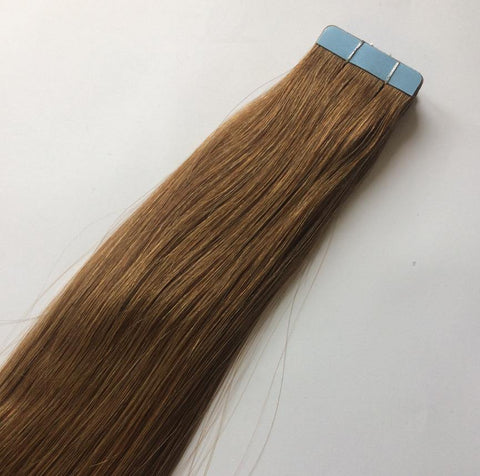 Golden Brown  Tape In Extensions #8 - Belle Noir Beauty