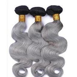 10A Grey Ombré  Bundles - Belle Noir Beauty