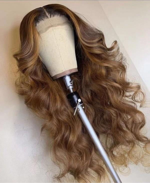 light brown lace unit