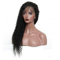 Lace Front 10a Grade Curly Hair Wig - Belle Noir Beauty (product_title) (product_type)