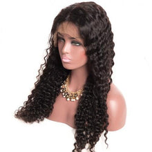 10a Grade Full Lace Deep Wave Wig - Belle Noir Beauty (product_title) (product_type)