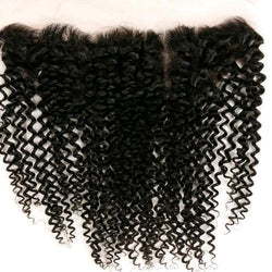 10A Brazilian Curly Frontal System - Belle Noir Beauty (product_title) (product_type)