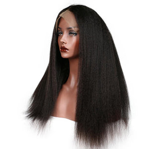 Lace Front 10a Grade Afro Kinky  Wig - Belle Noir Beauty (product_title) (product_type)