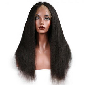 Lace Front Afro Kinky Unit - Belle Noir Beauty