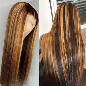 P4/27 Color Straight Hair - Belle Noir Beauty