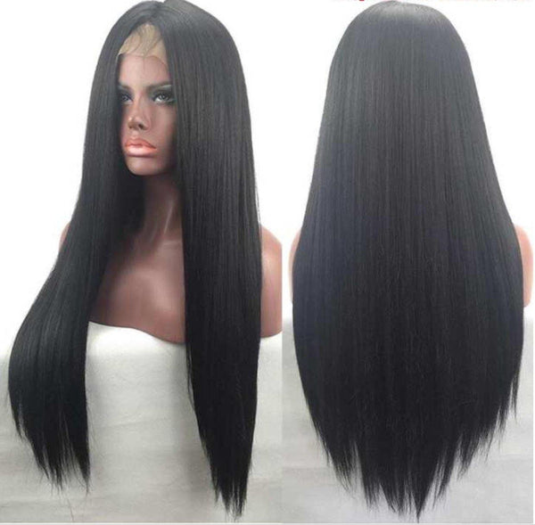 Lace Front Straight Wig - Belle Noir Beauty