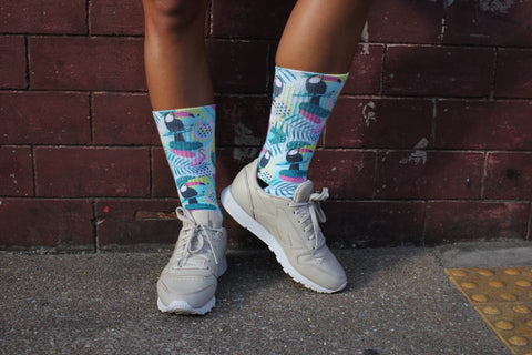 Tropical Paradise Socks